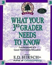 Core Knowledge: What Your Third Grader Needs to Know : Fundamentals of a Good Th