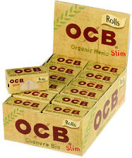 OCB Organic Hemp Rolls 24er Display
