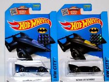2015 HOT WHEELS RLC FACTORY SET CITY BATMAN LIVE! BATMOBILE X2 BOTH COLORS