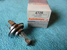 Autolamps Halogen Bulb, Motorcycle, 472B, 12v, 35/35w, P43T