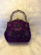 Beautiful And Elegant Hand Beaded Vintage1920S Style Handbag 'buy It Now'