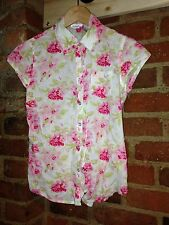 Charlotte Russe Rose Blouse Size Small