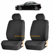 BLAK SPEED AIRBAG COMPATIBLE FRONT LOWBACK SEAT COVER SET for SAAB 9-3 9-7X