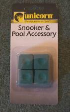 Unicorn - Snooker Cue Chalk - Green x 4 - 57001