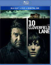 10 Cloverfield Lane (Blu-ray, 2016) John Goodman, Mary Elizabeth Winstead