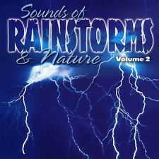 Vol. 2-Sounds Of Rainstorms & Nature - Sound Effects (2005, CD NEUF)