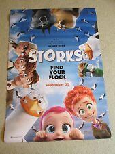 """HUGE 70""""x48"""" Storks Vinyl Movie Theater Banner/Poster Animated Sept 23, 2016"""