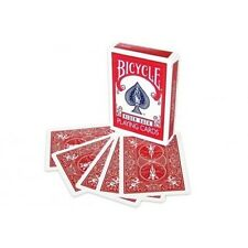 Red Double Backed Gaffed Deck Bicycle Playing Cards - Make Your Own Card Tricks!