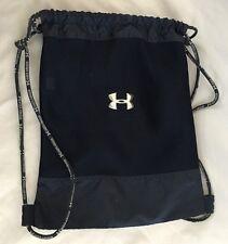 Blue 14X18 UNDER ARMOR Unisex SackPack Tote Bag Purse Adjustable Handle