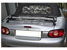 Mazda MX5 MK2 Luggage Boot Rack - Stunning Black Italian Rack