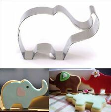 Elephant Stainless Steel Cookie Biscuit Cutter Mold Fondant Baking Pastry