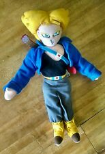 DragonBall DBZ Super Saiyan Future Trunks Plush 12 13 Inch No Tags
