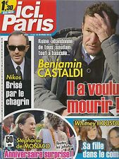 ICI PARIS N° 3631--BENJAMIN CASTALDI RUINE/STEPHANIE DE MONACO 50 ANS/HOUSTON