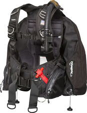 Zeagle Ranger Scuba BCD with Ripcord Weight System, Black, Extra Large