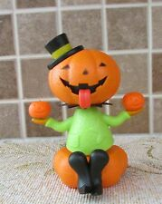 Solar Powered   Dancer. Halloween Pumpkin Head figure  NEW in Package 2016