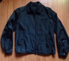 Mens Prada Parachute Black Basic Jacket 90's  Vintage Size S Made In Italy