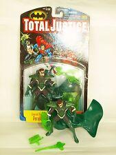 dc comics. total justice figure. parallax