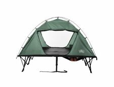 Kamp-Rite Compact Double TENT COT, 45x12x12-Inch 2 Person CAMPING COT TENT Green