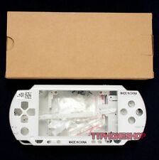 White Housing Faceplate Case Shell Cover for PSP 1000 1001 (Best Quality)