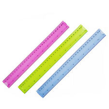 Flexible Bendy Ruler 12 Inch Measuring Rule School Work Stationery Office Craft