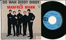"""MANFRED MANN 45 TOURS EP 7"""" FRANCE DO WAH DIDDY DIDDY"""