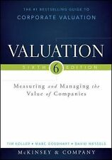 Wiley Finance: Valuation : Measuring and Managing the Value of Companies, +...