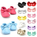 0-18M Baby Kids Tassel Soft Sole Leather Shoes Infant Boy Girl Toddler Moccasin