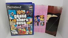 Grand Theft Auto Vice City Ps2 Ottima 1a Stampa Italiana con manuale & mappa