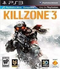PLAYSTATION 3 PS3 GAME KILLZONE 3 MOVE COMPATIBLE BRAND NEW & SEALED
