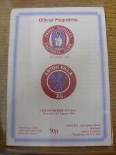 03/08/1989 Paget Rangers v Aston Villa [David okorhi apelación]. artículo parece B