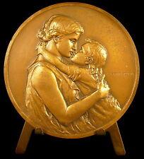 Médaille à Sebastien 16 02 1979 naissance birth mère et fils sc Prud'homme medal