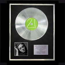 ADELE 21  CD PLATINUM DISC VINYL LP FREE SHIPPING TO U.K.