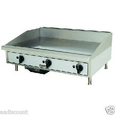 "NEW TOASTMASTER 36"" GAS GRIDDLE TMGM36 FLAT TOP by STAR"