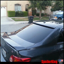 (284R) Rear Roof Spoiler Window Wing (Fits: Toyota Corolla 2009-10) SpoilerKing