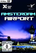 X - Plane 10 - Airport Amsterdam Schiphol (Add - On) - [PC-DVD]---Neu und OVP