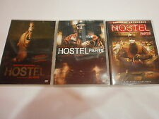 HOSTEL PART I-II-III - TRILOGIA COMPLETA -FILM in DVD-visita COMPRO FUMETTI SHOP