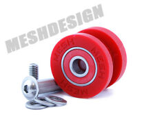 Chain Guide Roller For Chain Device Mountain biking MESH Components RED