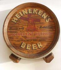 HISTORIC RARE HEINEKEN'S BEER- AUSTIN NICHOLS & CO. JAVA, INDONESIA, SIGN/PLAQUE