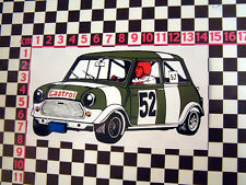 Period Racing sticker for a classic Mini - 1275GT Cooper S 998 1275 Mk1 Mk2