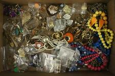VINTAGE Costume Jewelry Mixed Dealer LOT Craft Wear Repair 3 lbs Beads