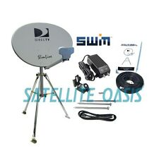 DIRECTV SWiM HDTV Satellite Dish Tripod Kit for RV / Mobile / Portable SWM HD