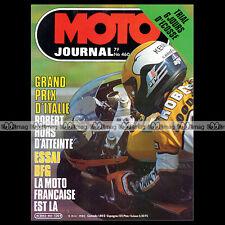 MOTO JOURNAL N°460 ROB SHEPHERD BFG 1300 SCOTTISH SIX DAYS TRIAL SSDT 1980