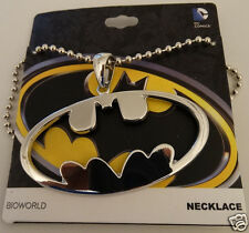 Batman Cut Out Logo Dc Comics Necklace Nwt