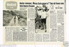Coupure de presse Clipping 1981 (2 pages) Maurice Garin le 1er Tour de France