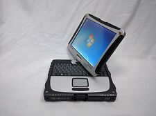 Panasonic Toughbook Cf 19 Laptop Win 7 Pro 64 Bit  4 Gb 320 Gb  Touchscreen