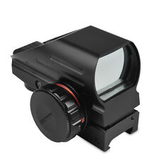 New Holographic Reflex Red Green Dot Sight Scope Picatinny Rail Four Modes