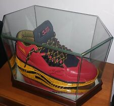 DWYANE WADE SIGNED LI NING CODE RED 2.0 JSA COA VERY RARE MINT CASE WAY OF WADE