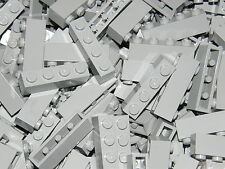 LEGO 40 x LIGHT GREY BRICKS 1 x 4  No 3010   CITY-STAR WARS-MOVIE
