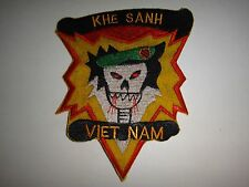 Vietnam War Patch US 5th Special Forces Group MACV-SOG Team At KHE SANH