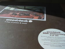 WOODSTOCK 5 LP BOX SET LIMITED EDITION 2009 RELEASE IN PRISTINE SEALED CONDITION
